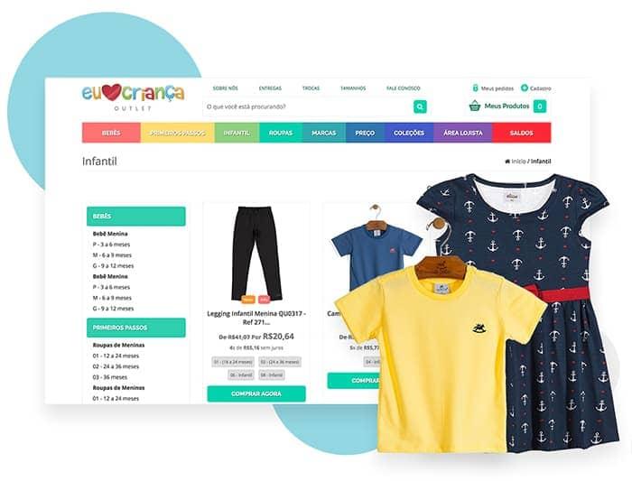 734872ffa Venda roupas de bebês e crianças online | Nuvem Shop